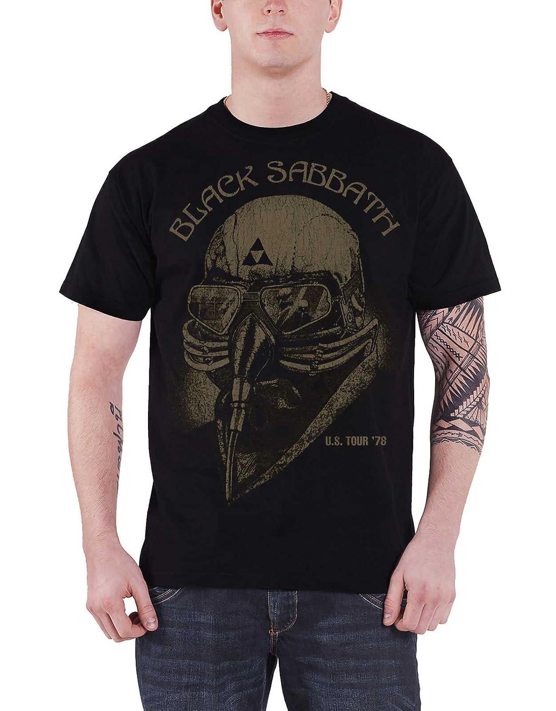 Black Sabbath T Shirt Us Tour 78 Band Logo Nouveau Officiel Homme Vintage