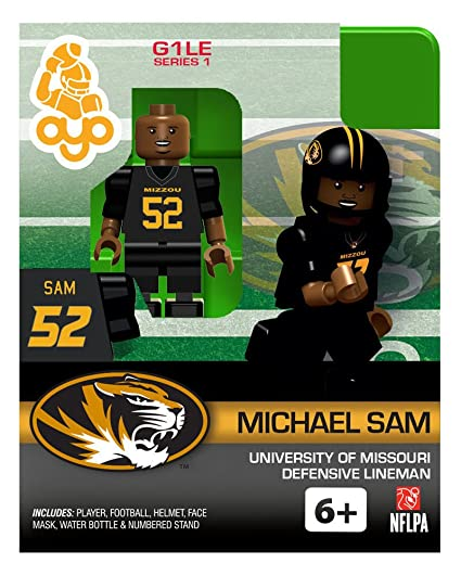 Amazon.com  Michael Sam University Of Missouri Ncaa Oyo Mini Figure ... ddb43aedf