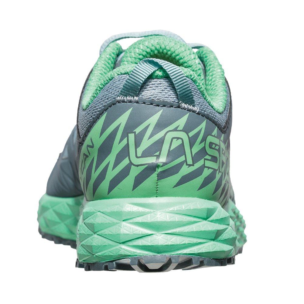 La Sportiva Lycan Running Shoe - Women's B07214B5R8 40 B (M) US|Stone Blue/Jade Green