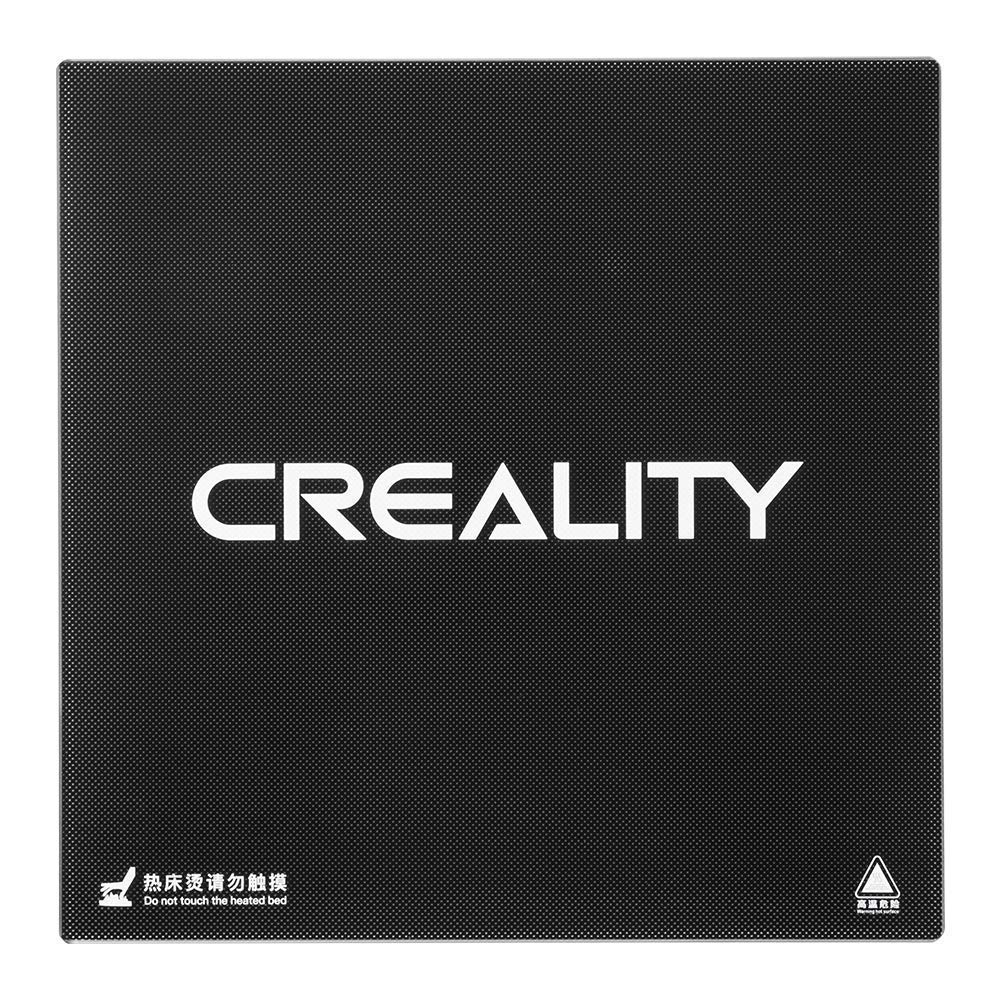 CHPOWER Creality 3D CR-10/ CR-10S Heated Bed, Tempered Glass Plate Build Surface 310x 310x 4mm
