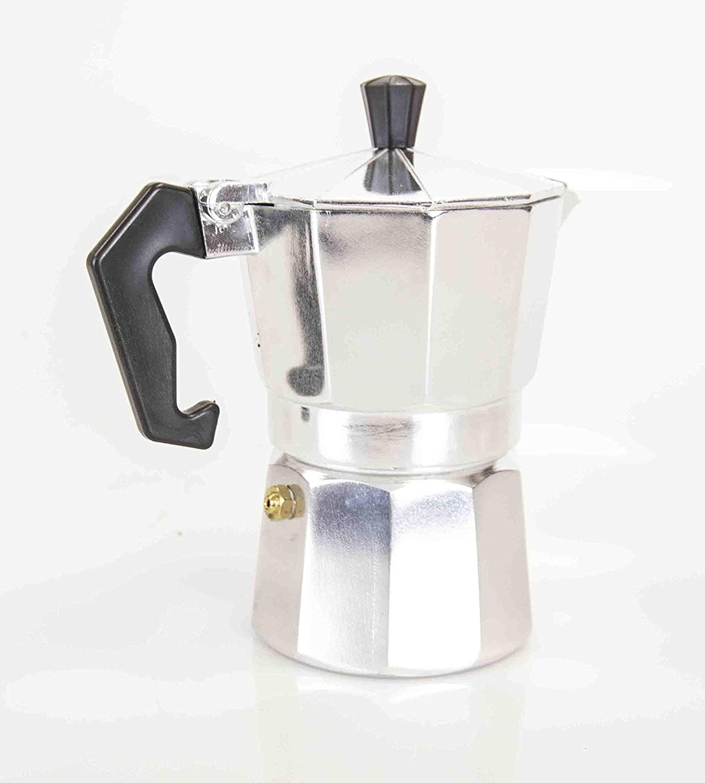 Home Basics 5 oz Aluminum Espresso Maker, 3 Cup