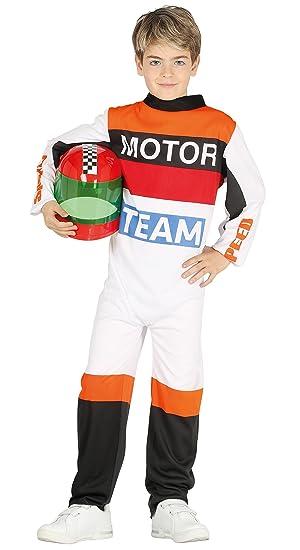 Guirca- Disfraz piloto motos, Talla 5-6 años (87500.0)