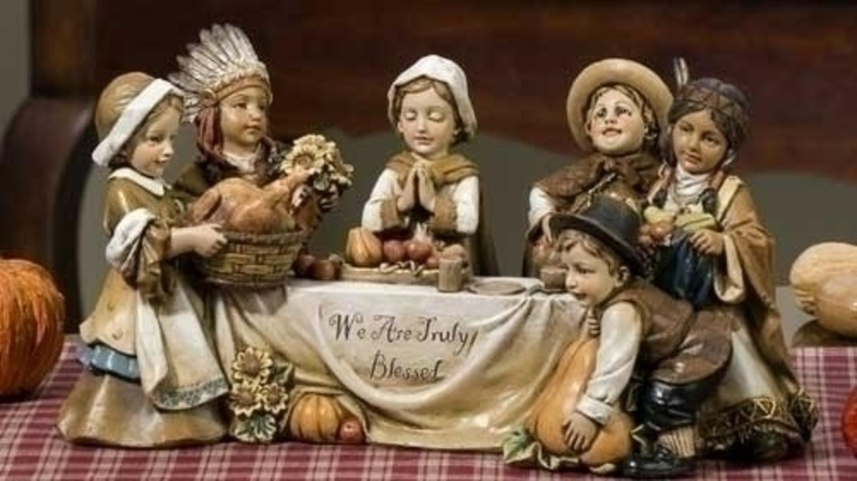 Pilgrim Children Thanksgiving