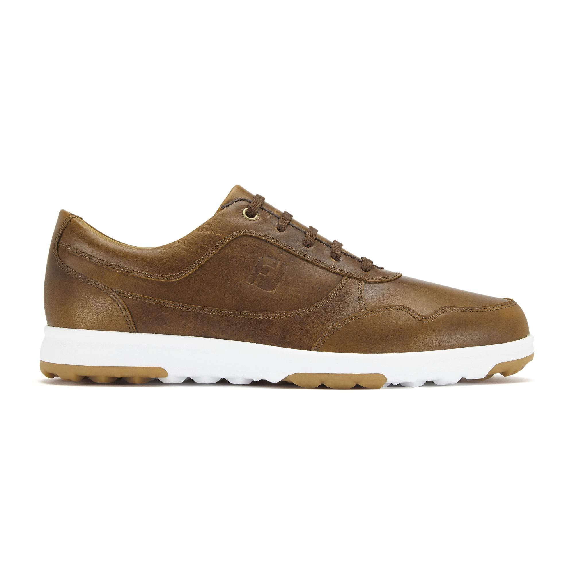 FootJoy Men's Golf Casual-Previous Seaon Style Shoes, Taupe Smooth, 10.5 M US by FootJoy