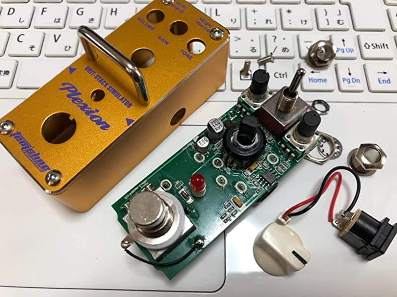 Tomsline-Engineering-APN3-PLEXION-ディストーション-マーシャル・アンプ-ギター用ペダルエフェクター-パテントデザイン・ノブ動く防止