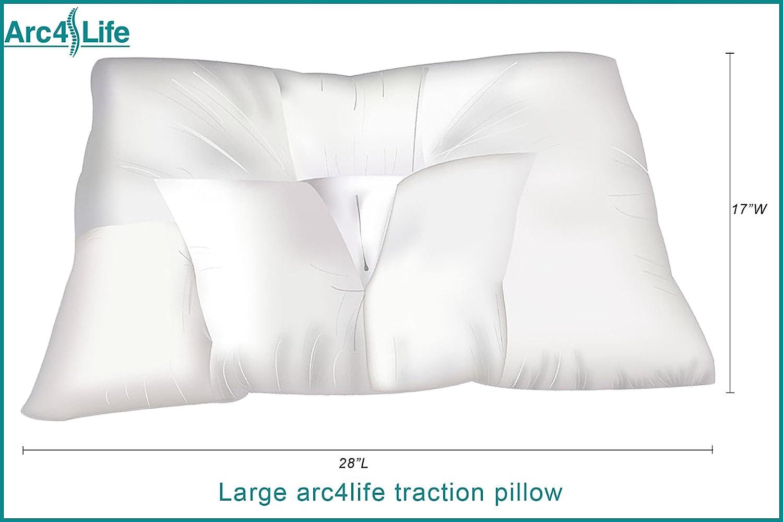 Arc4life Cervical Neck Traction Pillow
