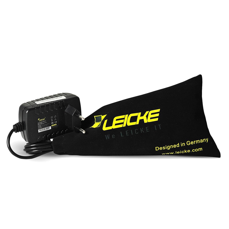 Adaptador universal LEICKE ULL 24V 1A 24Watt | Clavija de 5,5*2,5mm |Para aparatos como impresora de etiquetas, impresoras, escáneres, Switch, routers WIFI, ...