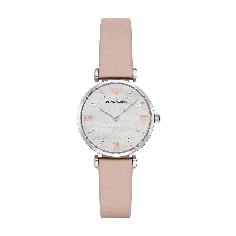 Emporio Armani Reloj de Pulsera de Mujer ar8039: Amazon.es ...