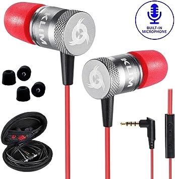 KLIM™ Fusion - Auriculares con micrófono para móvil + Garantía 5 años + Innovadora Espuma de Memoria + Jack 3,5 mm + Compatibles con Smartphone, Tablet, Consola, PC: Amazon.es: Electrónica