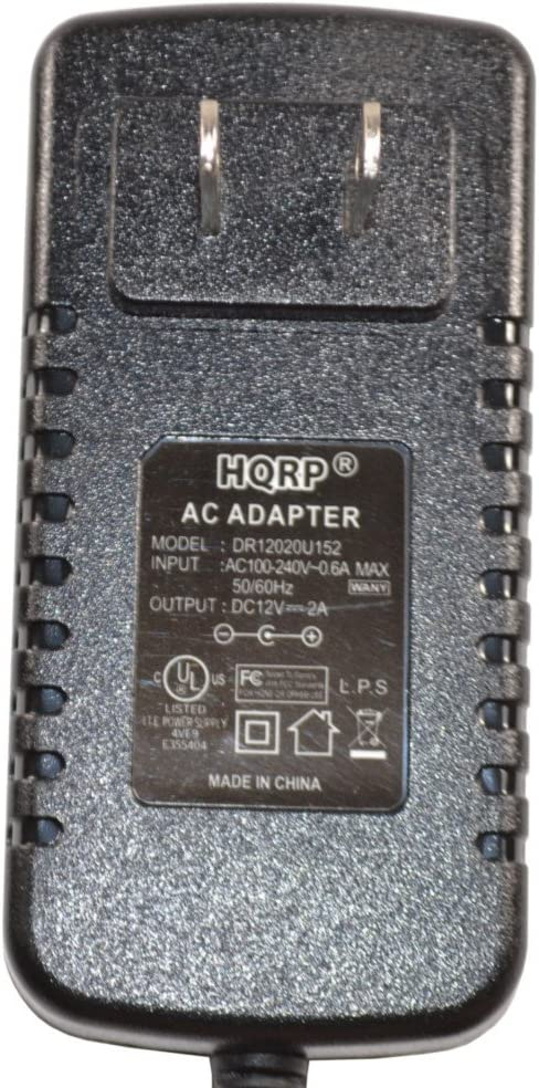 HQRP Cargador Adaptador de CA para Yamaha PA-5 PA-5C PA-5D PA-3 PA-3B PA-3C KPA-3 KPA-6 Teclado