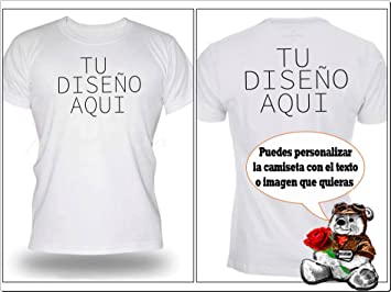 Camiseta Personalizada Sublimación con un texto y/o imagen
