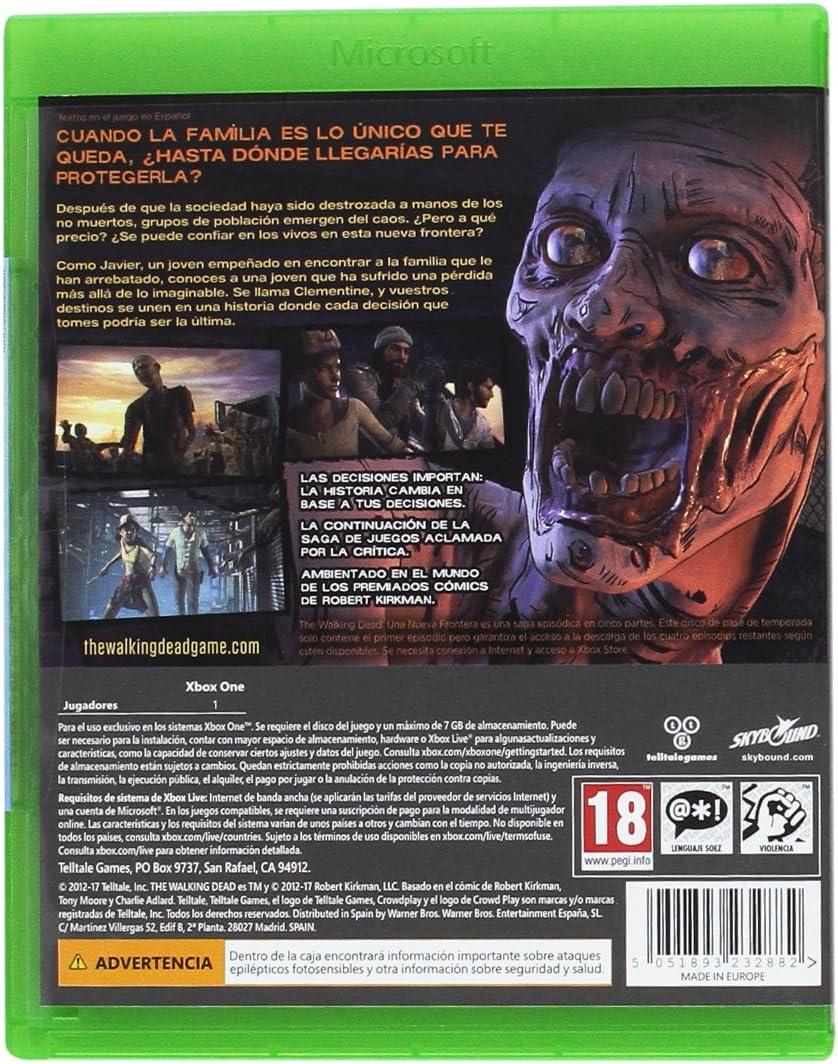 The Walking Dead: A New Frontier: Amazon.es: Videojuegos