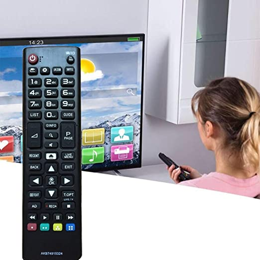 Nuevo Reemplazo Mando Universal TV LG AKB74915324 Ajuste para Mando LG Smart TV LG LCD LED TV 49UH668V 55UH605V 50UH635V 32LH604V 40UH630V 43UH610V: Amazon.es: Electrónica