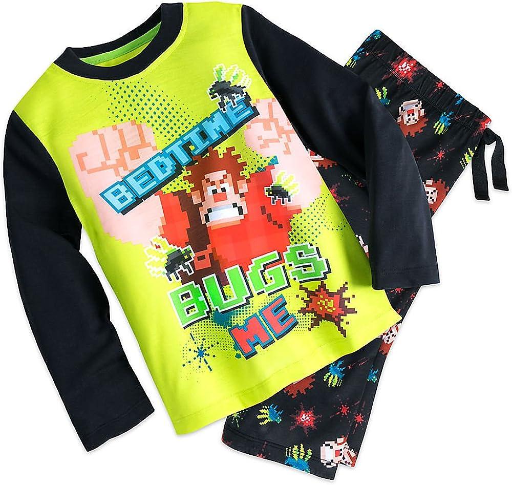 Disney Wreck-It Ralph Sleep Set Pajamas for Boys Size 4