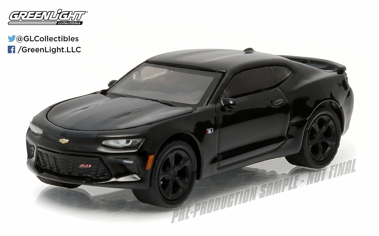 Greenlight 1 64 Scale Black Bandit Series 15 2016 Chevrolet Camaro SS
