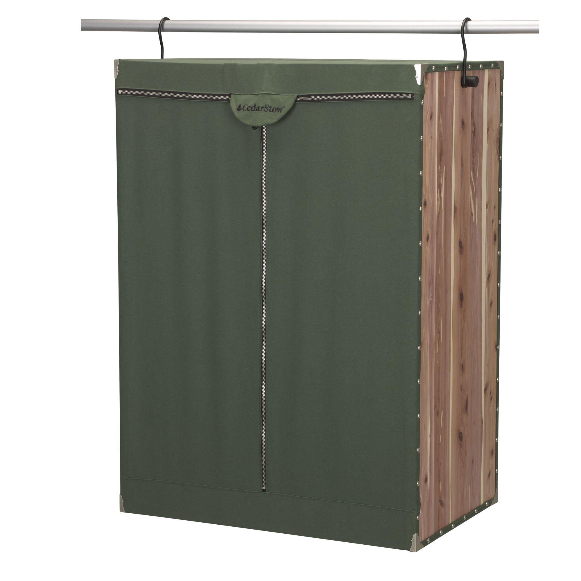 Household Essentials 2534-1 CedarStow Premier Garment Wardrobe | X-Wide | Cedar Green