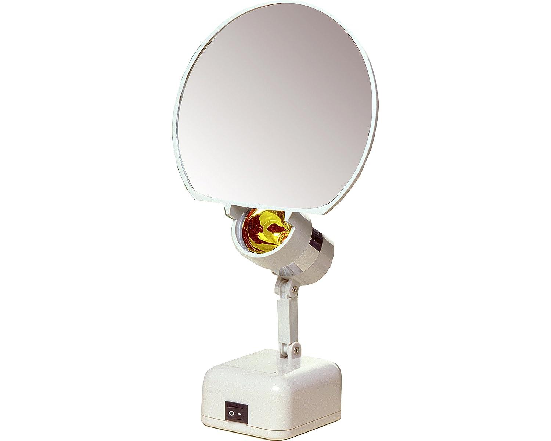 "Floxite 7"" Magnifying 8x Lamp Set Mirror"