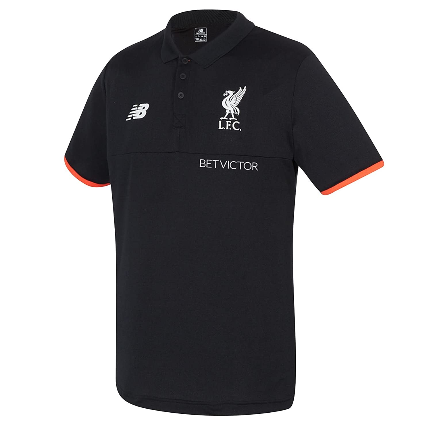 2016-2017 Liverpool Elite Polo Shirt (Black): Amazon.es: Ropa y ...