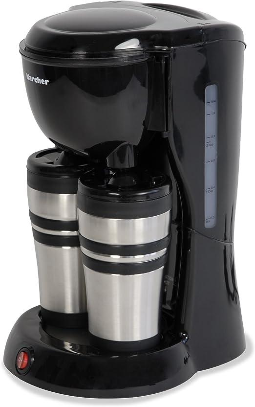 Karcher 112945 Thermo II - Cafetera de goteo con 2 vasos termo de ...