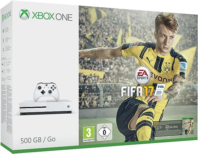 Xbox One S - Consola 500 GB + Fifa 17: Amazon.es: Videojuegos