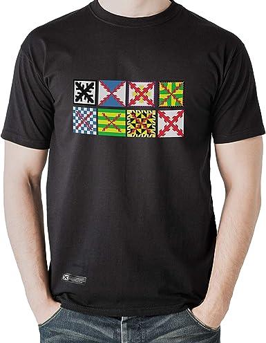 Estirpe Imperial Nueva Camiseta Bandera Tercios (M, Negro): Amazon.es: Ropa y accesorios