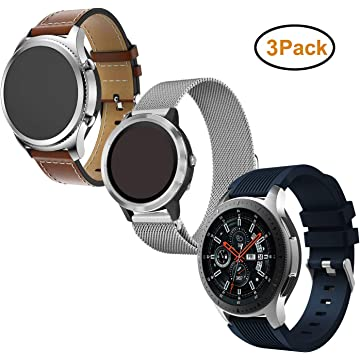 Amazon.com: Band for Galaxy Watch 46mm / Gear S3 Classic ...