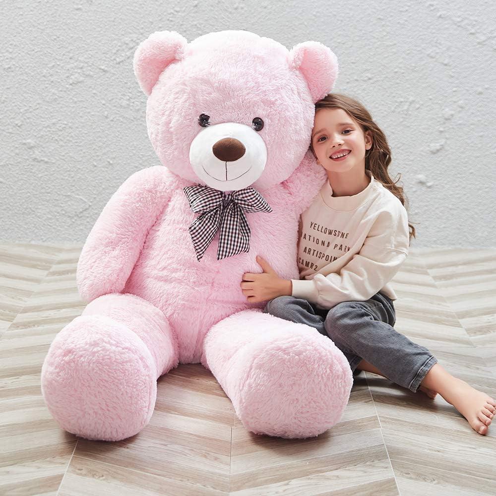 Amazon Com Morismos Giant Teddy Bear Cute Soft Toys Teddy Bear For Girlfriend Kids Teddy Bear Toys Games