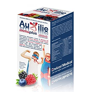 Auxilie Immuplus Junior Food Supplement 30 Sachets