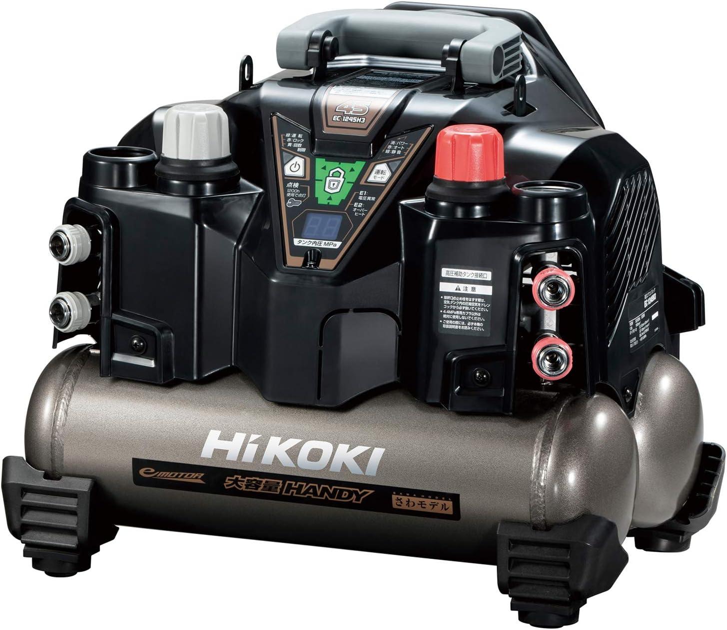 <br /> HiKOKI(ハイコーキ) 旧日立工機 釘打機用エアコンプレッサ タンク容量8L
