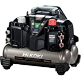 HiKOKI(旧日立工機) 釘打機用エアコンプレッサ タンク容量8L タンク内圧45気圧 高圧/一般圧対応 セキュリティ機能付き EC1245H3