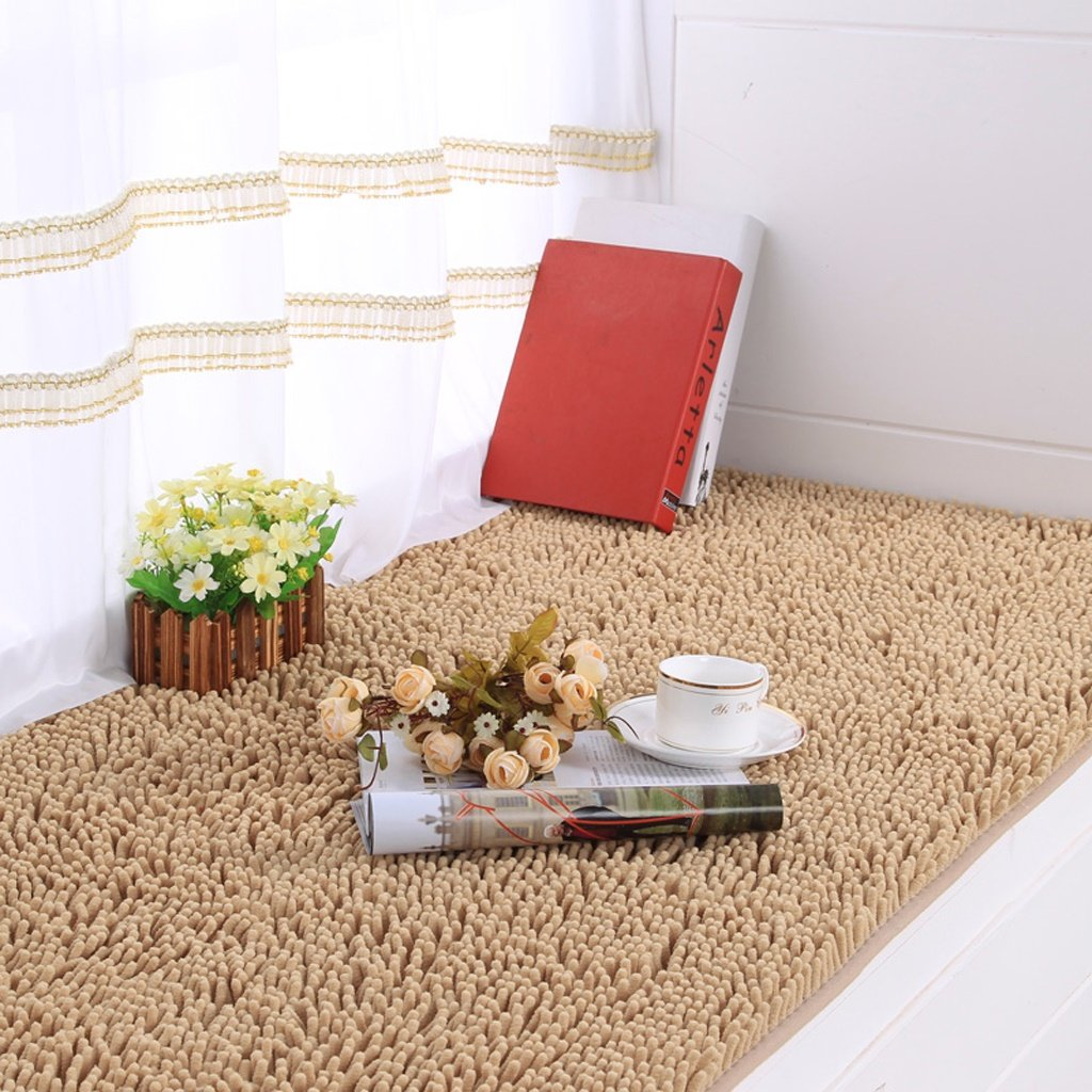 Edge To Carpet Rug Carpet Bedroom Bedside Mat Bedroom Carpet Bedside Room Carpet Rectangular Carpet Floating Window Pad ( Color : A , Size : 80200cm ) by Edge to (Image #1)