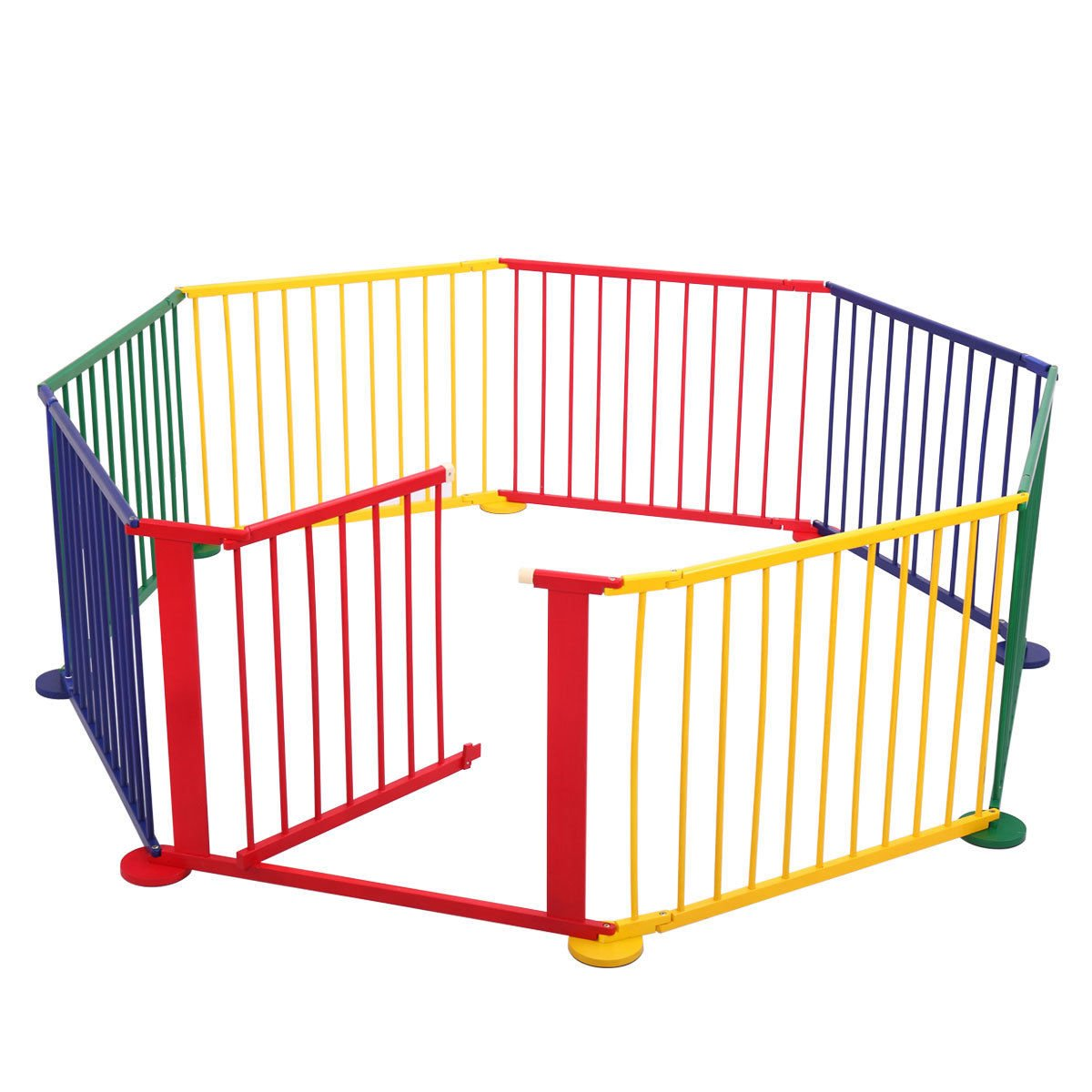 Amazon Com Jaxpety 8 Panel Kids Play Center Yard Indoor Outdoor