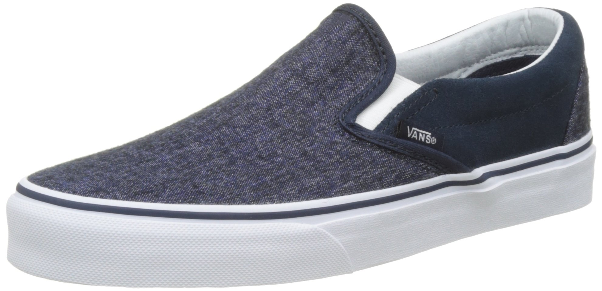 9352f7e47b Galleon - Vans Men s Classic Slip On (Suede   Suiting) Skateboarding Shoes  (12 B(M) US Women   10.5 D(M) US Men