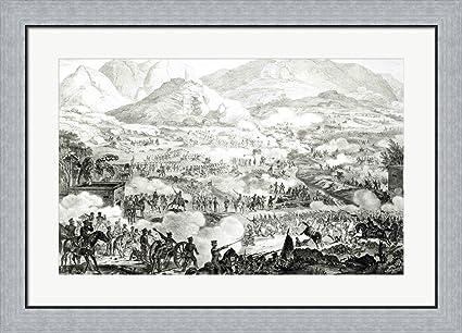 Amazon.com: Ever Memorable Battle of Buena Vista Framed Art Print ...