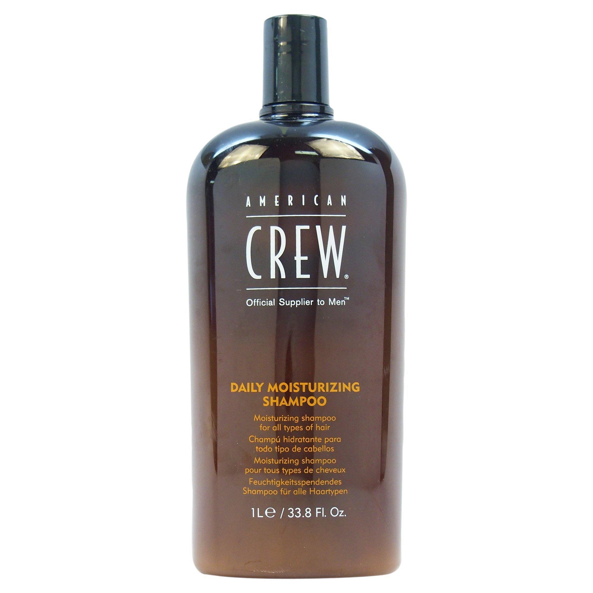 American Crew Daily Moisturizing Shampoo by American Crew for Unisex - 33.8 oz Shampoo