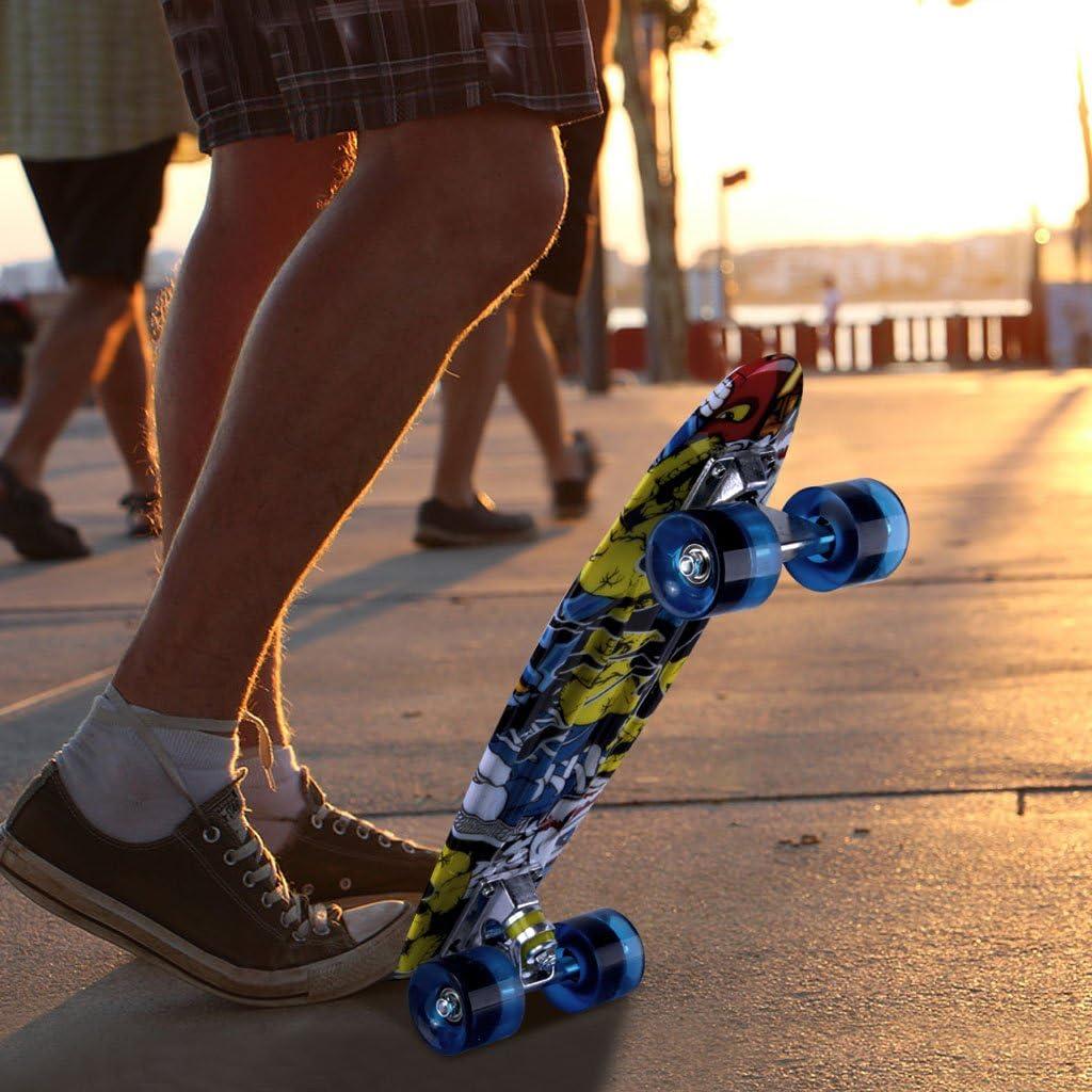 ENKEEO Skateboards 22 Inches Skateboard - 3