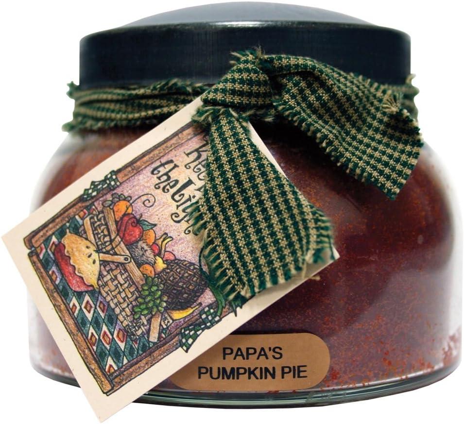 A Cheerful Giver JM10 Jar Candle, 22oz, Papa's Pumpkin Pie