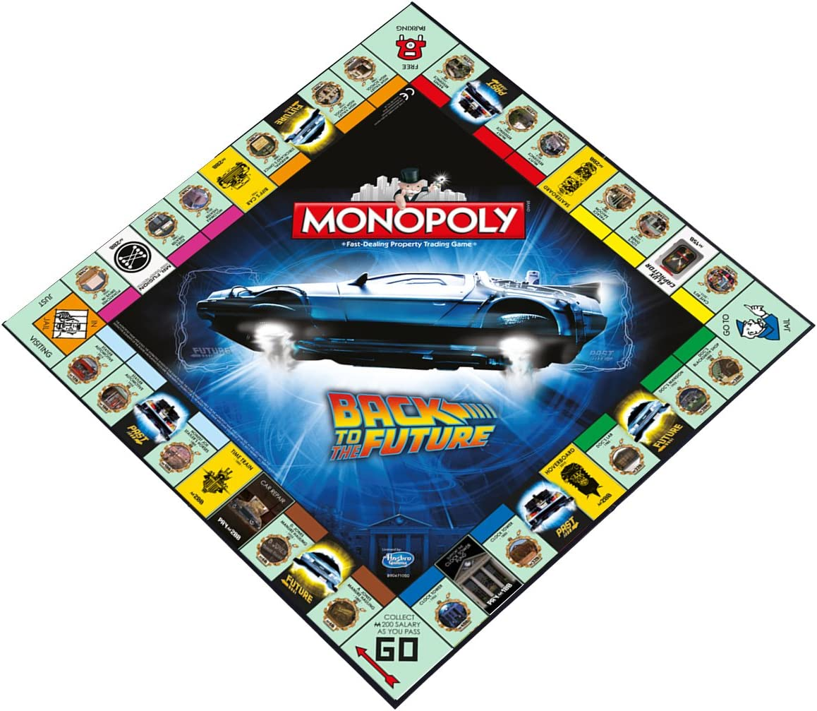 Winning se Mueve Monopoly - Back TO The Future: Amazon.es: Juguetes y juegos