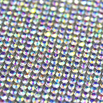 d67707c03e89 Amazon.com  Self-Adhesive Sparkling Round Rhinestone Stickers Sheet ...