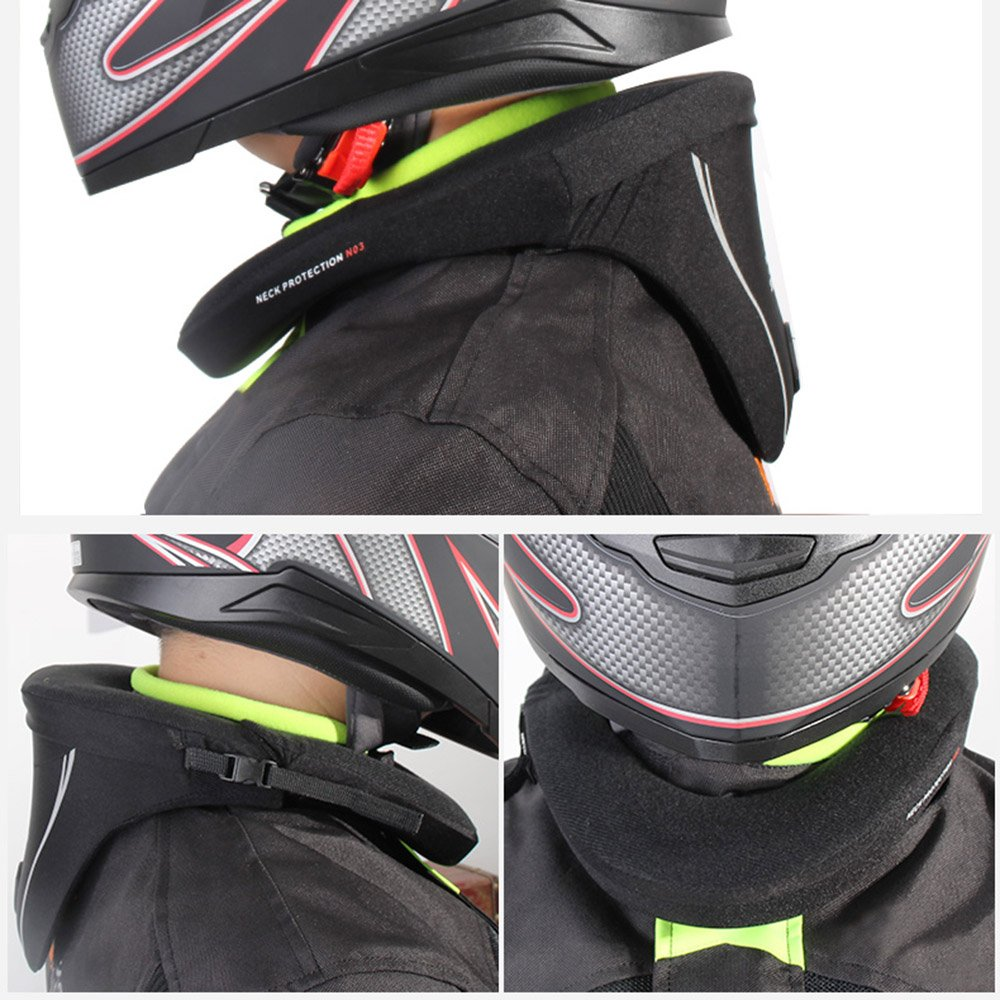 Nicebee Motorcycle Neck Protector Motocross Long-Distance Racing Protective Neck Brace Reduce Riding Fatigue