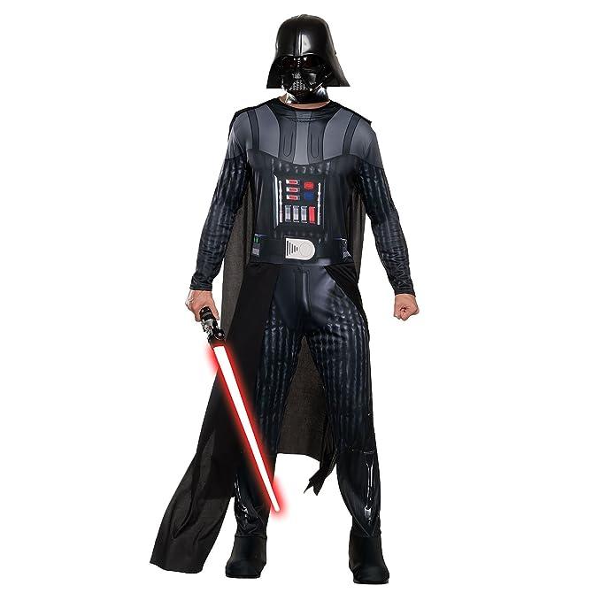 Star Wars Darth Vader Traje de los Hombres de 3 Piezas Mono ...