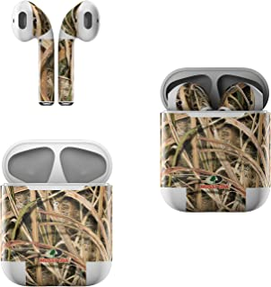 product image for Skin Decals for Apple AirPods - Shadow Grass Blades - Sticker Wrap Fits 1st and 2nd Generation