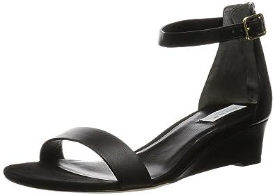 Cole Haan Women's Rossi Wedge Sandal, Black, ...