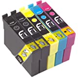 5x 29XL FCI Compatible Printer Ink Cartridges Replaces Epson XP235, XP245, XP247, XP332, P335, XP342, XP345, XP432, XP435, XP442, XP445, Ink Cartridges (Voted Best Printer Brand by Which Magazine 2017)