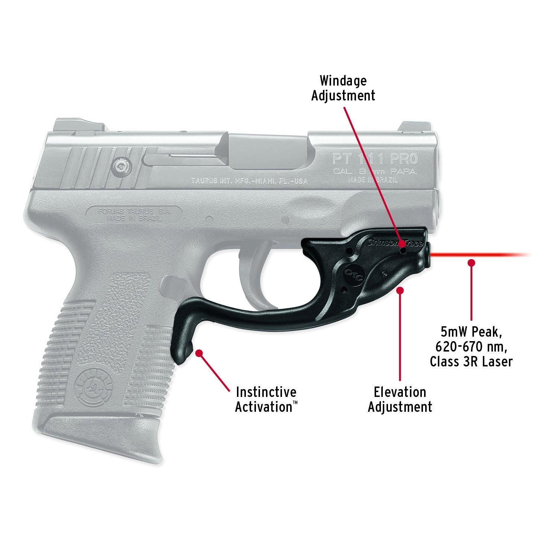 Crimson Trace LG-493 Laserguard Laser Sight for Taurus Millennium Pro  Pistols