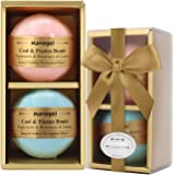 Premium Bath Bombs Gift Set by Mavogel -6 Pack of Assorted Spa Bath Fizzies with Organic & Natural Ingredients for Moisturizing Dry Skin-A Unique Present for Relaxation