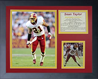 Legends Never Die Sean Taylor Home Framed Photo Collage, 11x14-Inch