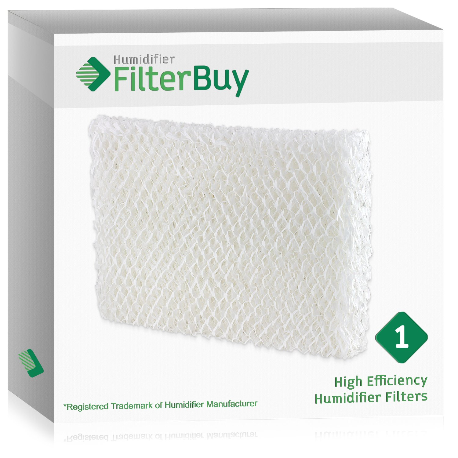 FilterBuy Humidifier Wick Replacement Filter for Lasko Humidifiers. Compares to Lasko Part # THF 8, THF-8, THF8.