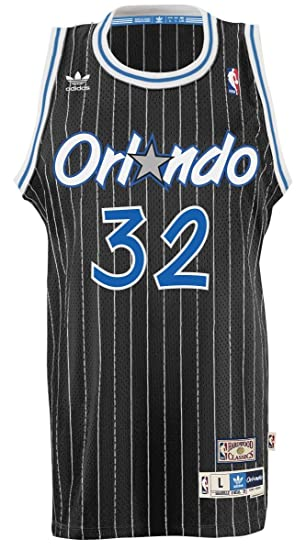 56d715bb560 ... coupon for orlando magic 32 shaquille oneal nba soul swingman jersey  black size 08950 3e389