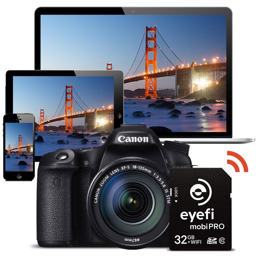 Amazon.com: Eye-Fi Mobi Pro WiFi SD de 32 GB 32 GB SDHC ...